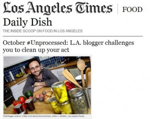 Los Angeles Times Coverage of October Unprocessed